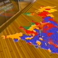 BBC general election, 2005