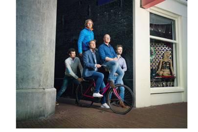 The Treatwell team (l-r): Jan-Willem van Boeckel, Martijn Rozendaal, Laurens Groenendijk, Erik Wienk, Maarten Engelen