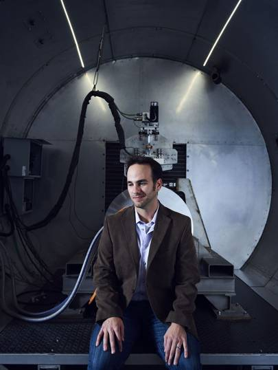 Josh Giegel, president of engineering at Hyperloop One
