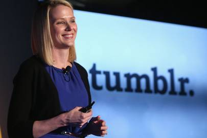 Yahoo CEO Marissa Mayer purchased Tumblr for $1.1bn in 2013