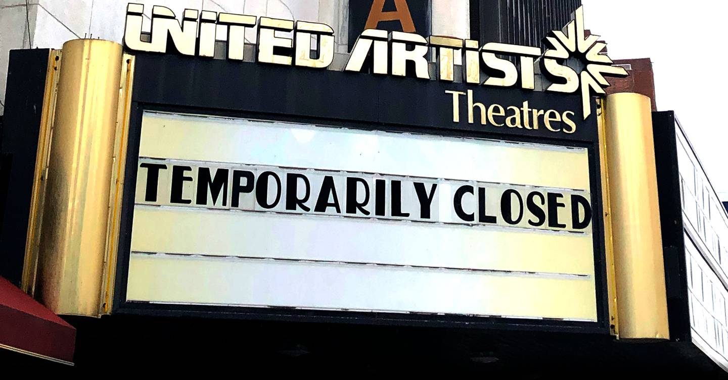 Sorry, there won't be any good films until the US sorts itself out