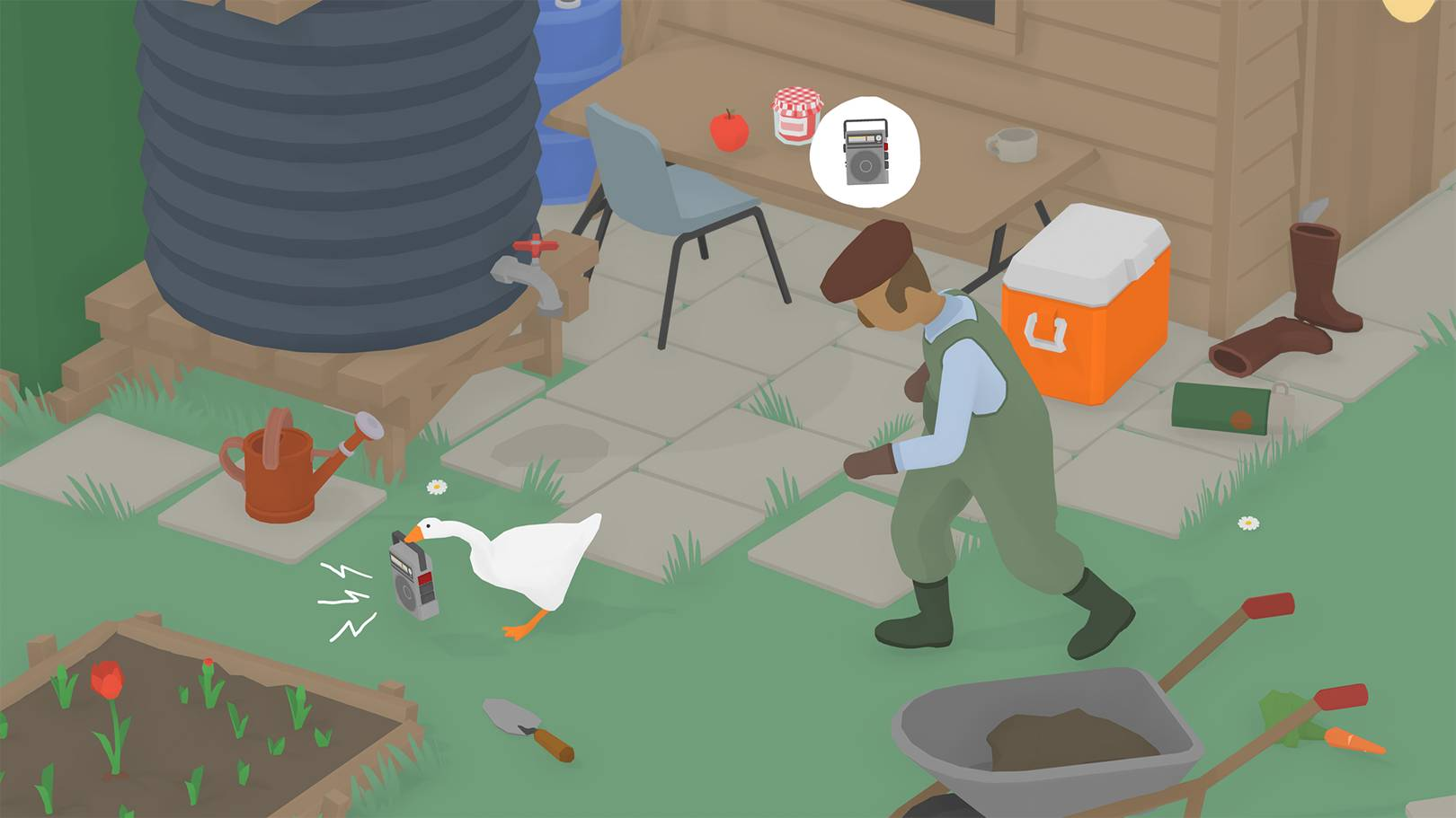 Untitled Goose Game actually lives up to the viral hype