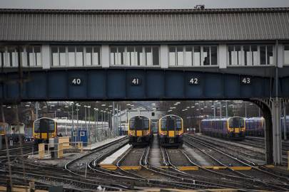 Clapham Junction is the UK's busiest interchange station, with 28,425,609 people changing trains there during the financial year 2014-15