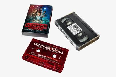 Stranger Things OST on cassette