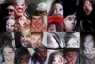 The Nightmare Machine is learning how to create terrifying faces through algorithms