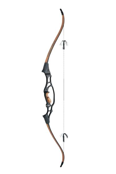 Radical recurve bow