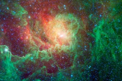 Sagittarius A* is located on the border of the constellations Sagittarius and Scorpio, deep in the heart of the Milky Way