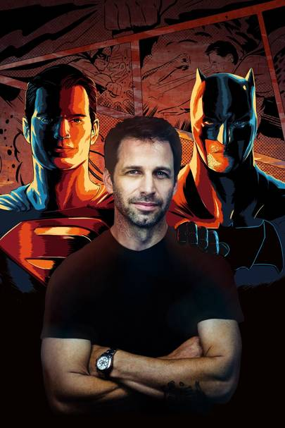 Snyder is also working on DC's Wonder Woman and The Justice League Part One, both due in 2017
