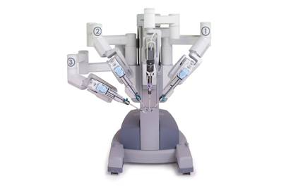 The da Vinci robot