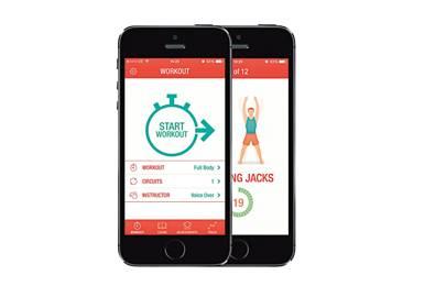38. Fitness app