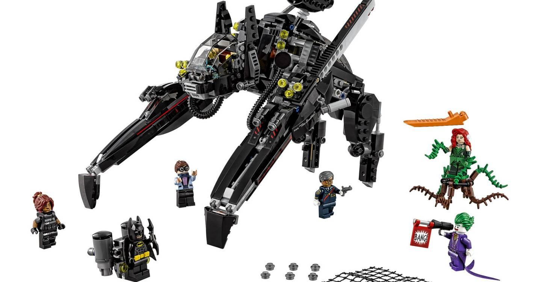 Minifig Weapon Grapple Hook Gun LEGO Black Batman