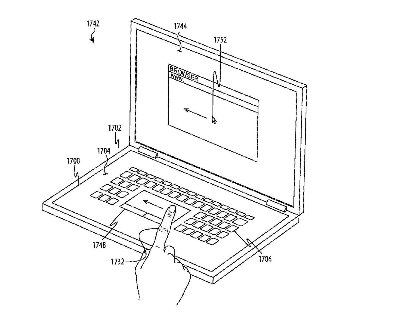 Apples Patent For A Touchscreen Macbook Keyboard Gives Us Glimpse Mp3 Fm Transmitter Circuit Diagram Review Ebooks At The Future Of Laptops Wired Uk