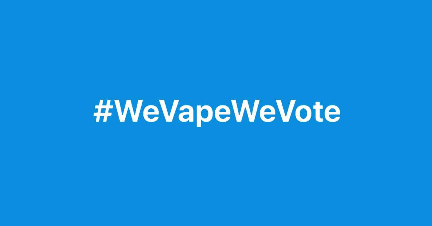 There's a suspicious pro-vaping campaign targeting Donald Trump on Twitter
