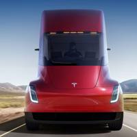 Tesla Semi truck launch image