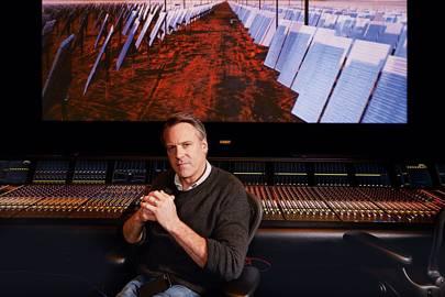 Wally Pfister in Paramount Studios, Los Angeles