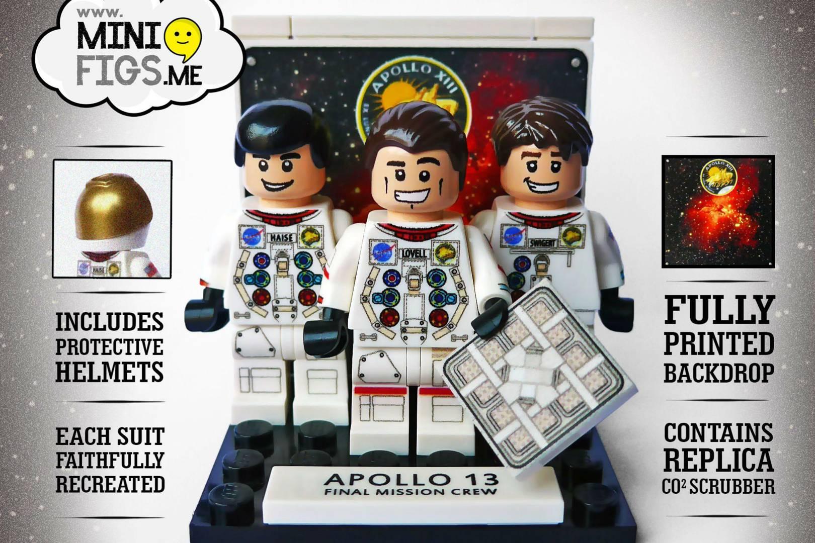 Apollo 13 crew immortalised in custom Lego set | WIRED UK