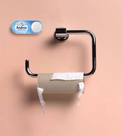 There's now an Amazon Dash button that tracks how often you poo – but it's far from a gimmick