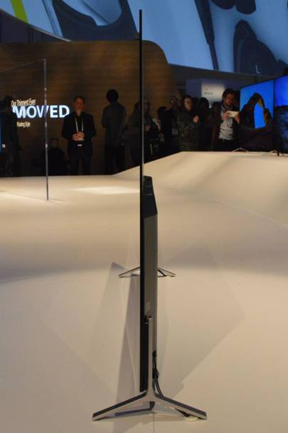 Sony 4K TV is slimmer than an iPhone