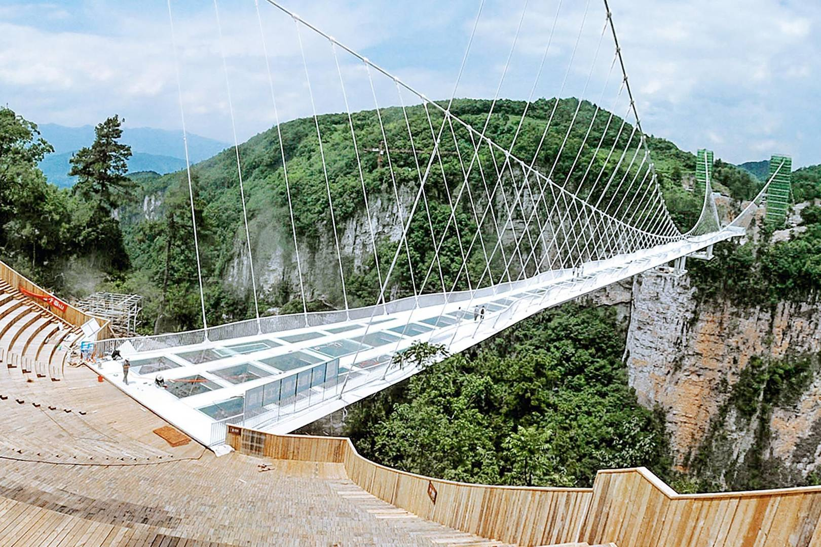 china glass bridge architect haim dotan discusses the design wired uk - Zhangjiajie Glass Bridge