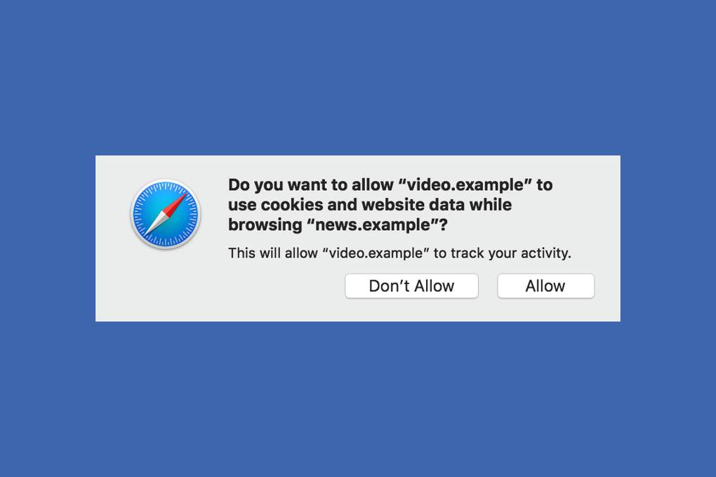 With a swipe at Facebook, Apple's Safari opens up a chasm in