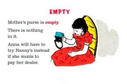 'Empty', from My First Dictionary