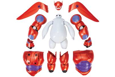 The titular Hero, Baymax