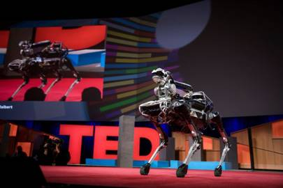 Forget drones, deliveries could soon be made by robotic 'dogs'