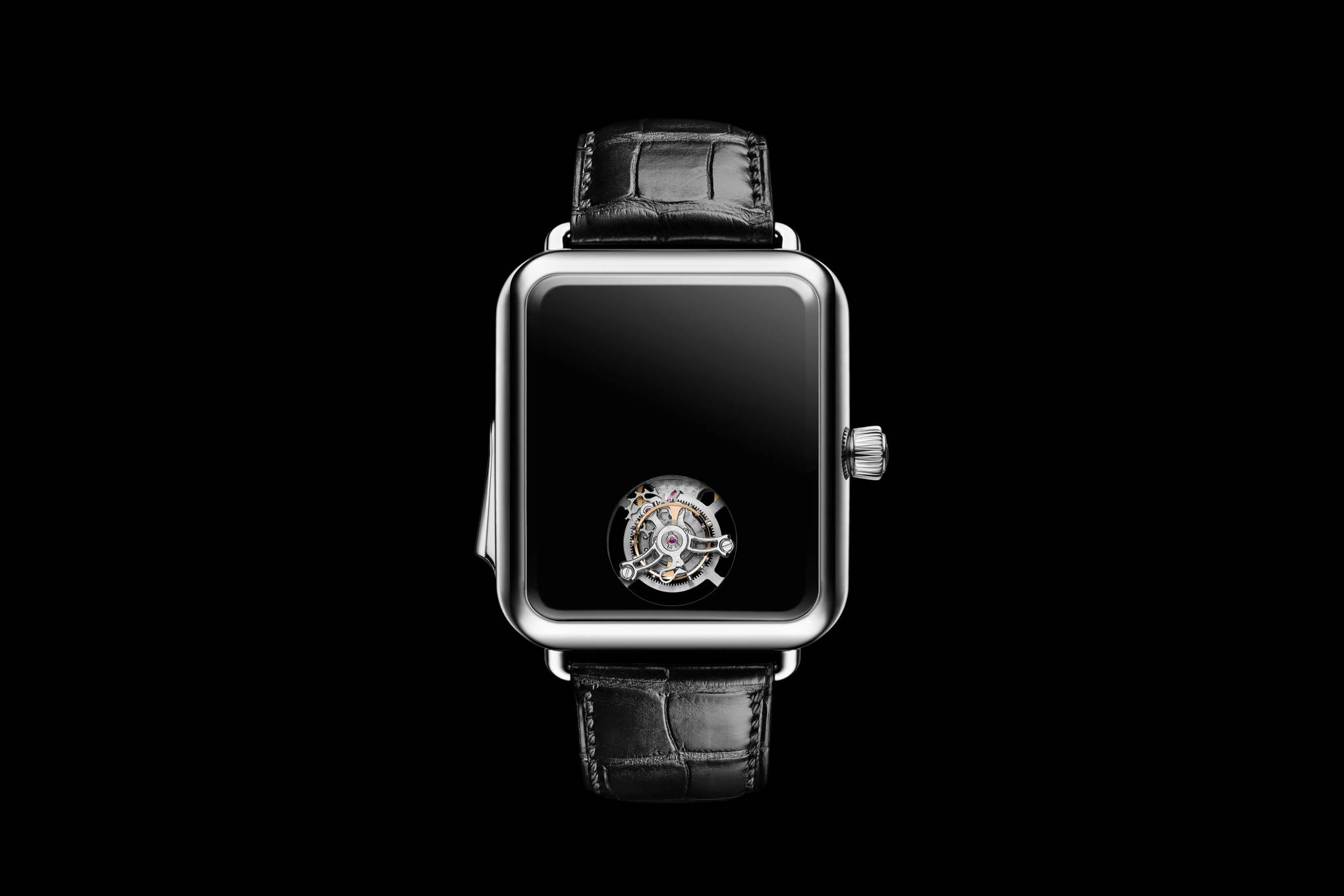 This Swiss company has created a bonkers anti-Apple Watch