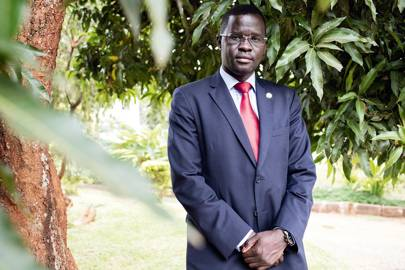 Shaka's lawyer Nicholas Opiyo founded human-rights organisation Chapter Four
