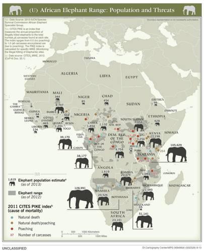 2013 elephant population