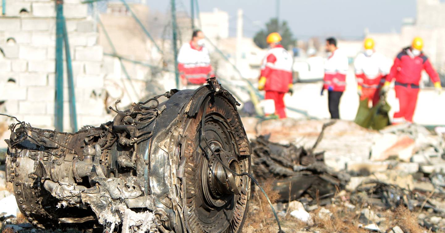 How digital sleuths unravelled the mystery of Iran's plane crash