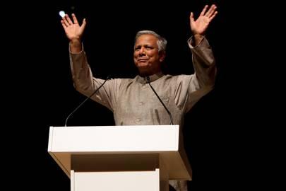 Muhammad Yunus won the Nobel Peace Prize for founding Grameen Bank