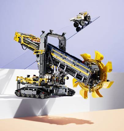 Lego Technic: Bucket wheel excavator