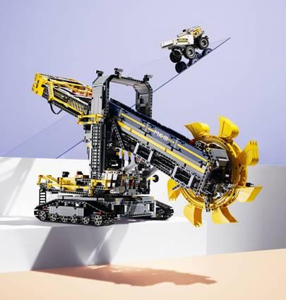 Lego Technic: Bucket wheel excavator