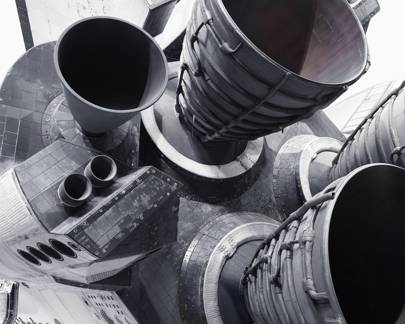 Space Shuttle Atlantis rocket motors