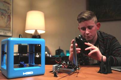 £120 Micro 3D printer raises $1m in 24 hours