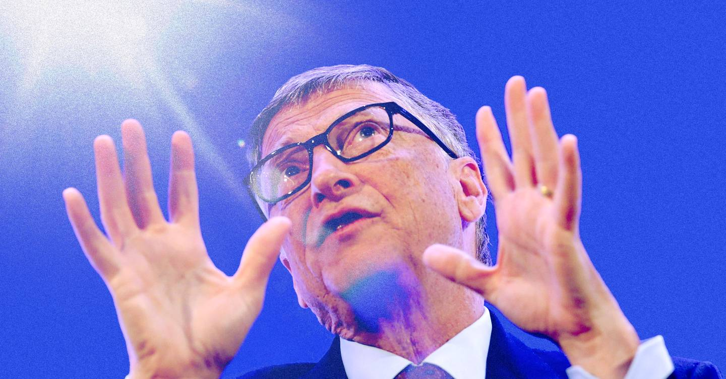 A new type of Bill Gates conspiracy theory is going viral on Facebook