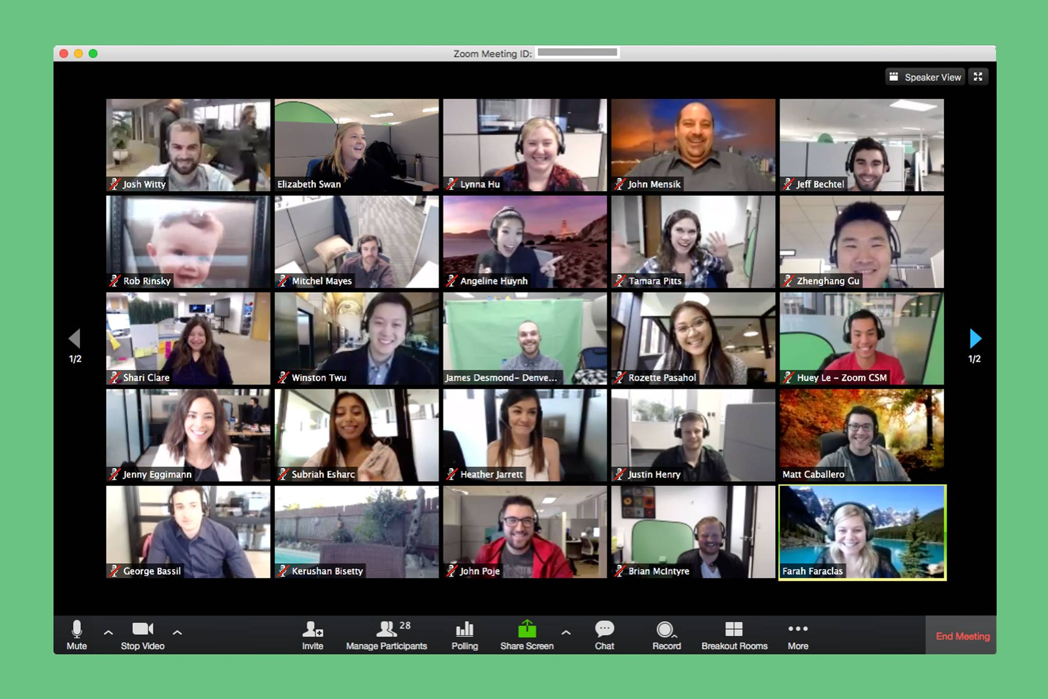 free video conferencing with screen sharing