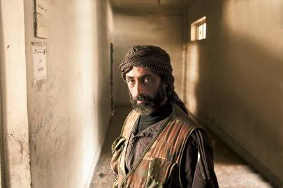 Abu Yassin, a former network engineer, now one of Aleppo's weapon-makers