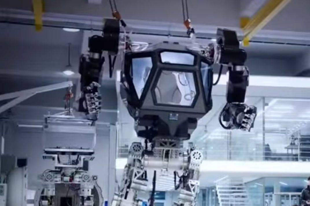 Method 1 Is A Giant Robot That S A Cross Between Alien S