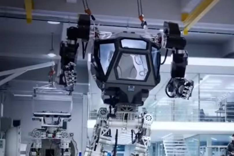 Method 1 Is A Giant Robot Mech That 39 S A Cross Between Alien 39 S Power Loader And The Iron Giant