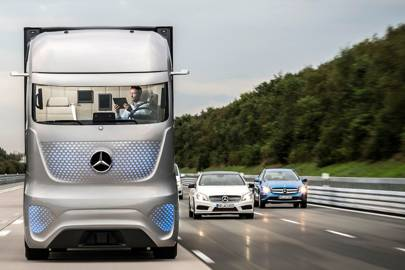 Mercedes revolutionises trucking with self-driving semi