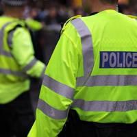 British police in hi-vus