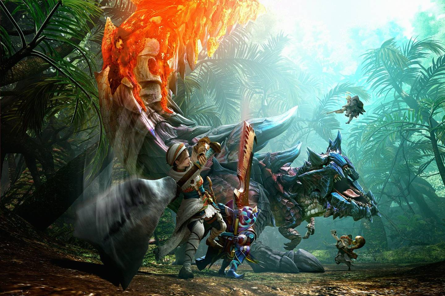 Monster Hunter Movie Is Heading To Hollywood Wired Uk