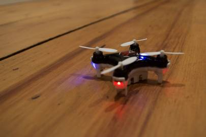 The JetJat Nano-C camera drone is fun, silly and useless