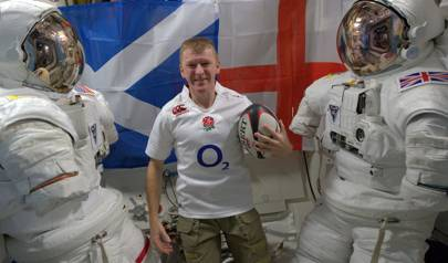 Tim Peake: six nations