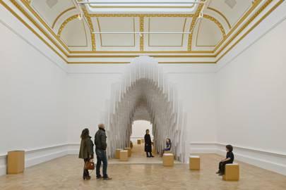 Installation by Diébédo Francis Kéré