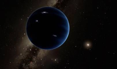 Artist's impression of Planet Nine