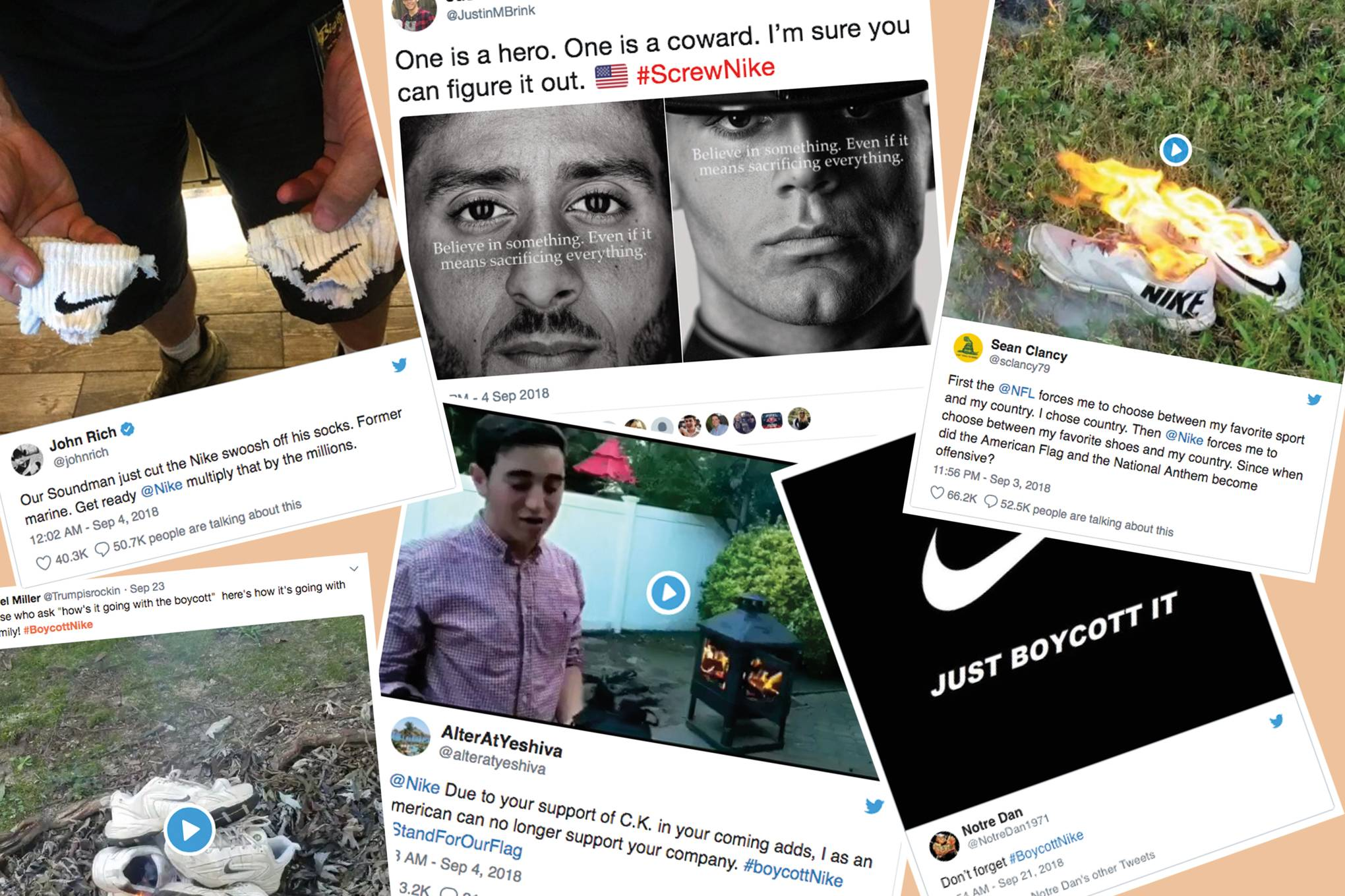 Here's proof that Russian-backed accounts pushed the Nike boycott