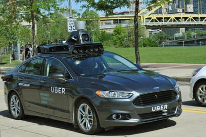 "Uber launched [link url=""http://www.wired.co.uk/article/uber-pittsburgh-self-driving""]self-driving taxis[/link] in Pittsburgh earlier this year"